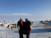 Observing reindeer herding in Kilpisjärvi