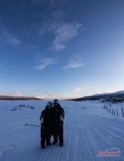 On the way to the border of three Nordic countries