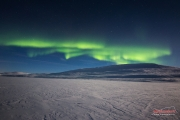 The northern lights and the magical night sky