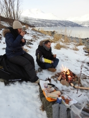 Visiting the Arctic Ocean campfire